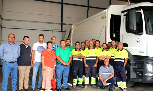Improvements of the company dealing with waste collection in the Municipality